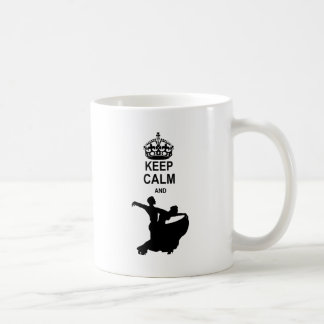 Keep Calm and Ballroom Dance Coffee Mug
