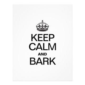 KEEP CALM AND BARK FLYER