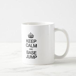 KEEP CALM AND BASE JUMP COFFEE MUG