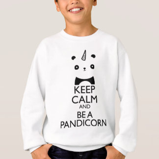 Keep Calm and be a Pandicorn Sweatshirt