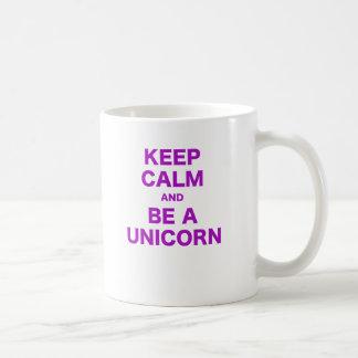 Keep Calm and Be a Unicorn Mugs
