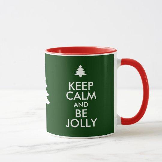 KEEP CALM and BE JOLLY Mug