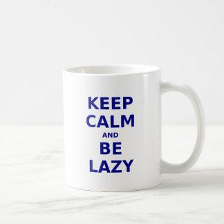 Keep Calm and Be Lazy Mugs