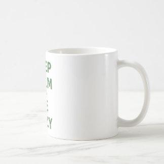 Keep Calm and Be Lazy Coffee Mug