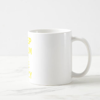 Keep Calm and Be Lazy Coffee Mugs