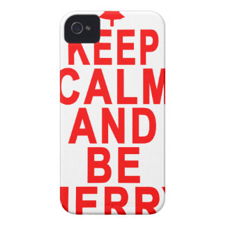 Keep Calm and Be Merry Christmas Women's T-Shirts. Case-Mate iPhone 4 Cases