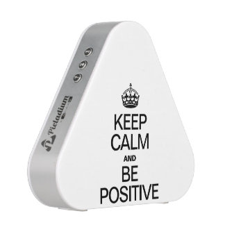 KEEP CALM AND BE POSITIVE BLUETOOTH SPEAKER
