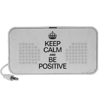 KEEP CALM AND BE POSITIVE MP3 SPEAKER