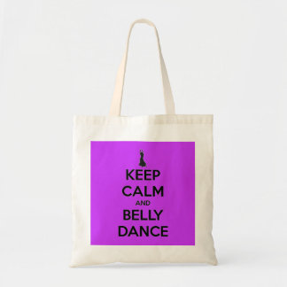Keep Calm and Belly Dance Tote