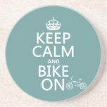 Keep Calm and Bike On (any colour)