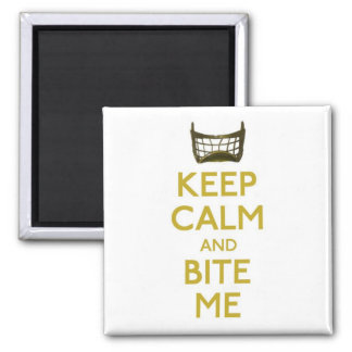 keep calm and bite me net magnet magnets