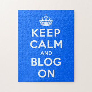 Keep Calm and Blog  On Puzzles
