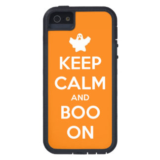 Keep Calm and Boo On iPhone 5 Covers