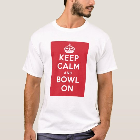 """""""Keep Calm and Bowl On"""" – Light (Men's)"""