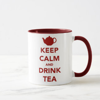Keep Calm and Brew a Cuppa Mug