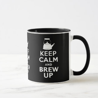 Keep Calm and Brew up british humor Mug