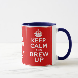 Keep Calm and Brew Up Mug