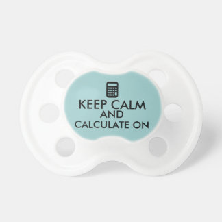 Keep Calm and Calculate On Calculator Custom Dummy