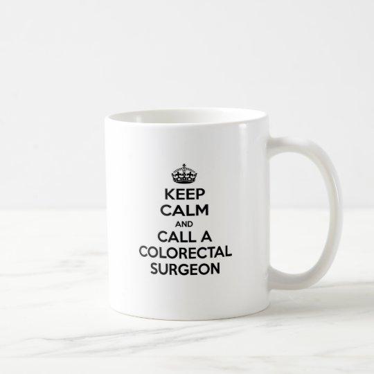 Keep Calm and Call a Colourectal Surgeon Coffee