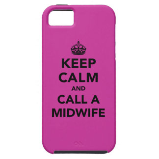 Keep Calm and Call a Midwife iPhone 5 Covers