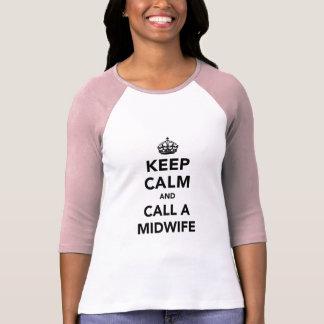 Keep Calm and Call a Midwife Shirt
