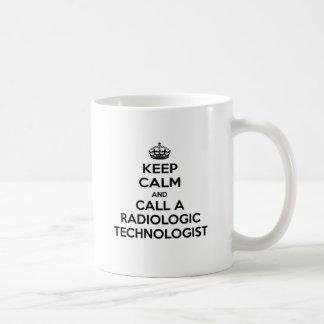 Keep Calm and Call a Radiologic Technologist Mug