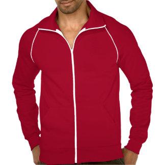 Keep Calm and Call Hubby American Apparel Fleece Track Jacket