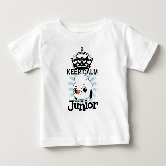 Keep Calm and Call Junior Baby T-Shirt