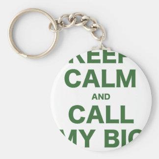Keep Calm and Call my Big Key Chain