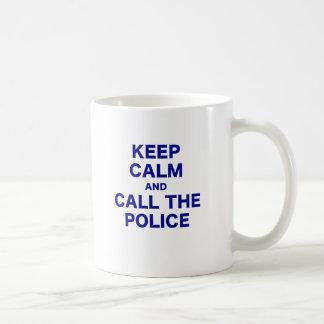 Keep Calm and Call the Police Mugs