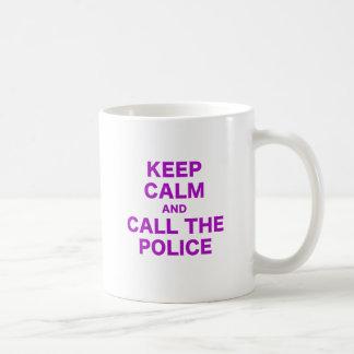 Keep Calm and Call the Police Coffee Mugs