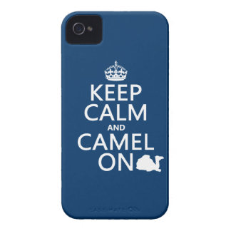 Keep Calm and Camel On (all colors) iPhone 4 Case