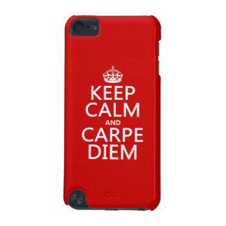 Keep Calm and Carpe Diem iPod Touch (5th Generation) Cover