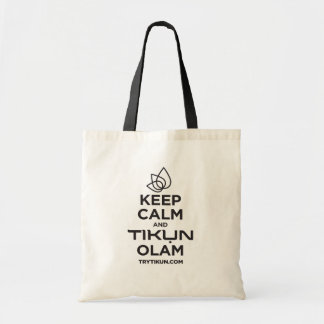 Keep Calm and Carry a Tote Bag