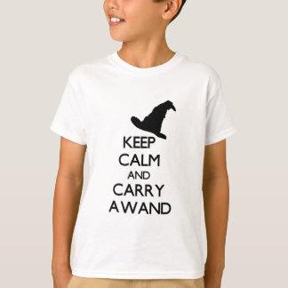 KEEP CALM AND CARRY A WAND TEES