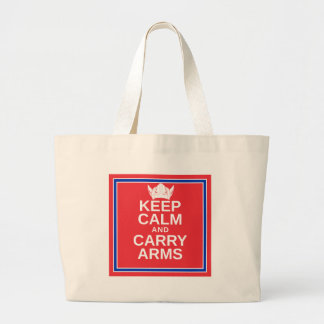 Keep Calm and Carry Arms Norwegian Viking Gear Bags
