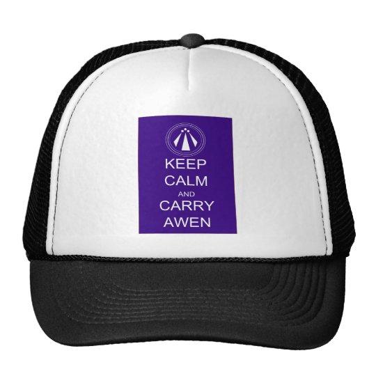 Keep Calm and Carry Awen Cap
