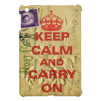 Keep calm and carry case for the iPad mini