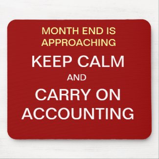 funny accounting Mousepad