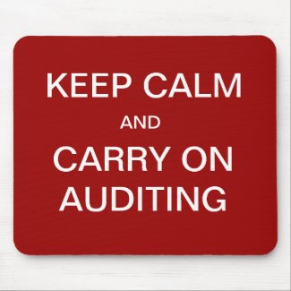 auditing mousepad very funny