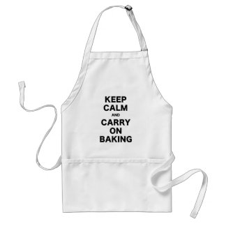 Keep Calm and Carry On Baking Standard Apron