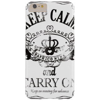 Keep Calm and Carry On Barely There iPhone 6 Plus Case