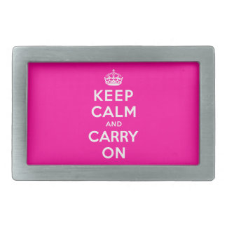 Keep Calm and Carry On Belt Buckle