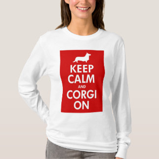 Keep Calm and Carry On Cardigan Shirt