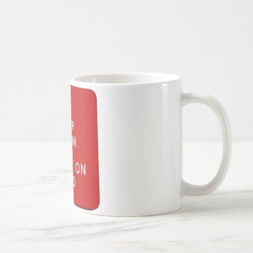 Keep Calm And Carry On Dad Mug