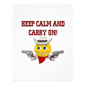 Keep Calm And Carry On Flyers