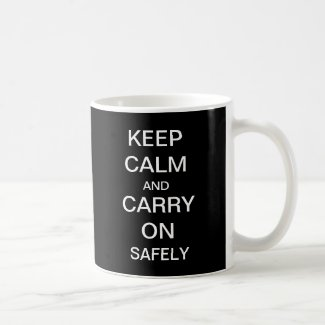 Keep Calm and Carry On Health and Safety Mug