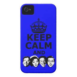 Keep calm and carry on iPhone 4 cover