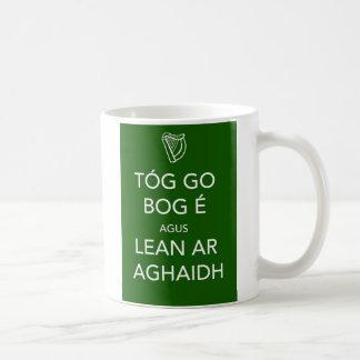 Keep Calm and Carry On IRISH Mugs