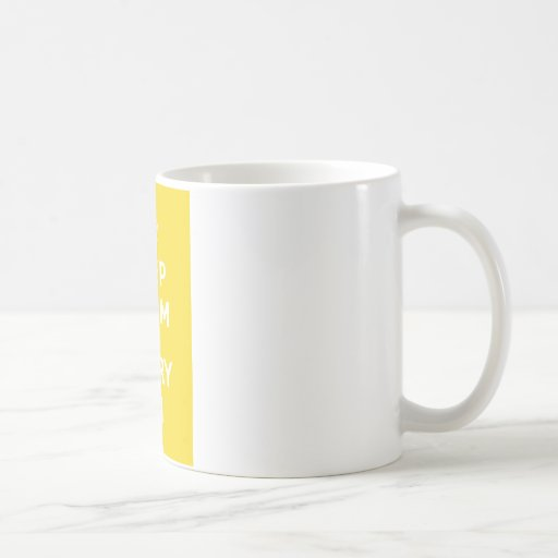 Keep Calm and Carry On_MUG_SUNSHINE Basic White Mug